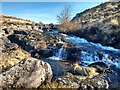 SX6385 : Waterfalls on North Teign river by Patrick Vincent