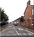 SJ5128 : Barnard Street home zone, Wem by Jaggery