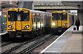 SJ2690 : Class 507 EMUs at Moreton station by William Starkey