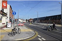 SK5236 : Chilwell Road with tram stop by David Lally