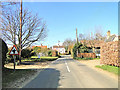 TM2744 : Crossroads Left priority road sign at Waldringfield by Adrian S Pye