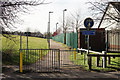 TQ3063 : Footpath Across Roundshaw Park by Peter Trimming