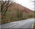 SS8695 : Reduce speed now on the A4107, Cymmer by Jaggery