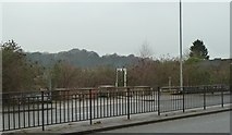 SJ8545 : Newcastle-under-Lyme: former car dealership (4) by Jonathan Hutchins
