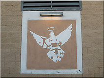 TQ3479 : Symbol on Youth Centre, Old Jamaica Road, London SE1 by Christine Matthews