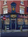 SP0686 : The Craven Arms (6) - entrance door & plaque above, 47 Upper Gough Street, Birmingham by P L Chadwick