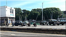 SY6878 : Second World War vehicles in Weymouth by Jaggery