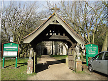 TM1469 : The War Memorial lych gate at Thorndon by Adrian S Pye