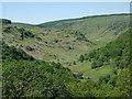 SN8452 : View towards Cwm Irfon, Powys by Roger  Kidd