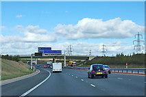 SE4727 : A1(M) near Fairburn by Robin Webster