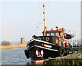 TG3504 : Dutch tug on the River Yare by Evelyn Simak