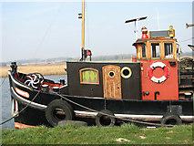 TG3504 : A historic Dutch tug by Evelyn Simak