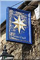 TQ5920 : The Star Inn sign by Philip Halling