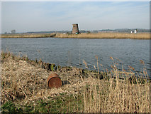TG3504 : View across the River Yare by Evelyn Simak