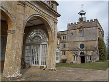 ST3505 : Forde Abbey: the chapel and an arch by Chris Downer