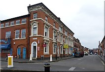 SP0687 : Corner of Spencer Street and Hockley Street by Rob Farrow