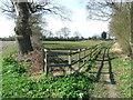 TM4275 : Footpath Junction by Keith Evans