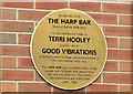J3474 : Harp Bar punk rock plaque, Belfast (March 2015) by Albert Bridge