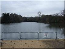 SJ9599 : Stamford Park Boating Lake by JThomas