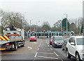 SK5636 : Wilford Lane tram crossing by Alan Murray-Rust