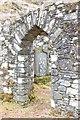 NR8596 : St Bride's Chapel by Patrick Mackie