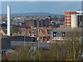 SK5902 : View northwest across the city of Leicester by Mat Fascione