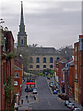 SP0687 : Ludgate Hill and St Paul's Church by Chris Allen