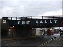 TQ3084 : Railway bridge over Caledonian Road, Islington by Chris Whippet