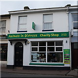 SX9265 : Animals in Distress Charity Shop by Ian S