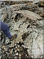 NY3512 : Columnar rock formation by Oliver Dixon