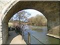 TQ7053 : Underneath Teston Bridge by Marathon