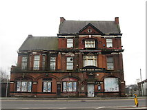 SJ8298 : The Black Horse Hotel, Salford by John Slater