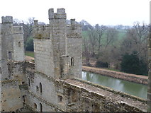 TQ7825 : Bodiam Castle from the Postern Tower by Marathon