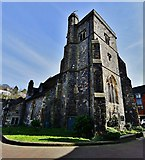 TQ4210 : Lewes: The church of St Thomas a Becket by Michael Garlick