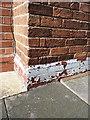 SP1585 : OS benchmark - Garretts Green, 110 Clopton Road by Richard Law