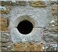 SP7261 : Duston - St Luke's - Leper's squint (probably) by Rob Farrow