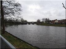 J3472 : The River Lagan immediately downstream of the Ormeau Bridge by Eric Jones