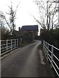 TM2281 : Bridge on Mill Lane by Adrian Cable