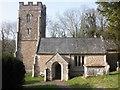 ST1935 : All Saints Church, Aisholt by Roger Cornfoot