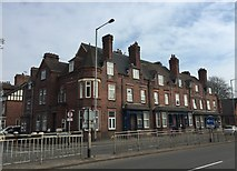 SJ8545 : Newcastle-under-Lyme: Grosvenor Terrace by Jonathan Hutchins