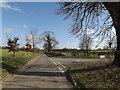 TM2282 : Upper Harman's Lane, Needham by Adrian Cable