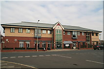 TA2710 : One side of the Freeman Street Resource and Community Centre, in Kent Street, Grimsby by Chris
