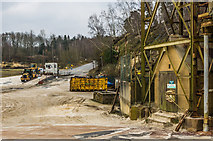 TQ2250 : Weighbridge and sand processing plant by Ian Capper