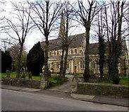 SU1484 : Parish Church of St Mark the Evangelist, Swindon New Town by Jaggery
