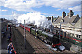 SD4970 : Steam train at Carnforth station by Ian Taylor