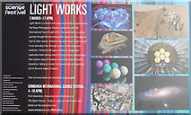 NT2574 : LIGHT WORKS in Edinburgh by M J Richardson