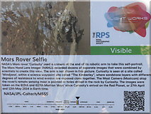 NT2574 : 'Curiosity'  selfie - how it was done by M J Richardson
