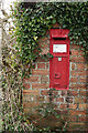 SD0898 : Postbox at Amethyst Green, Cumbria by Peter Trimming