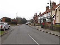 TM2482 : Needham Road & Needham Road Postbox by Adrian Cable