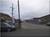 TQ2282 : Industrial units on Salter Street, College Park by David Howard